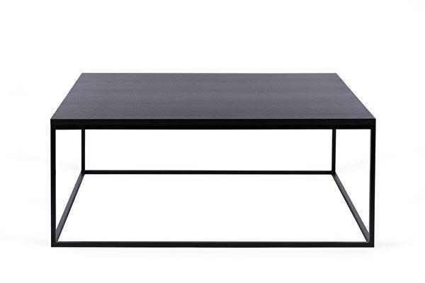 FOREST kvadratinis kavos staliukas 100 Juodas-azuolas