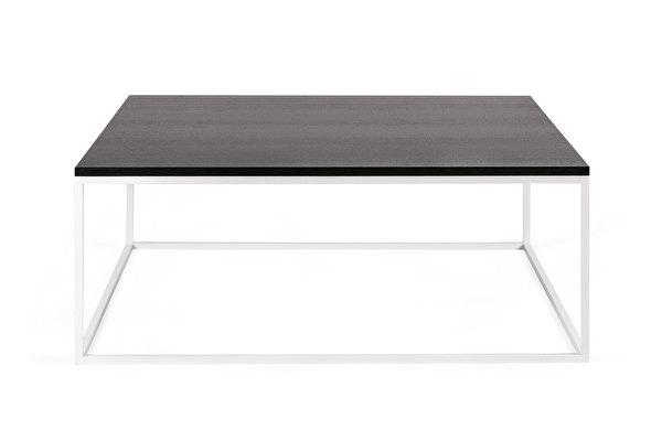 FOREST baltas kvadratinis kavos staliukas 100 Juodas-azuolas