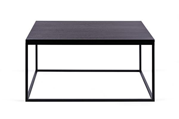 FOREST kvadratinis kavos staliukas 80 Juodas-azuolas