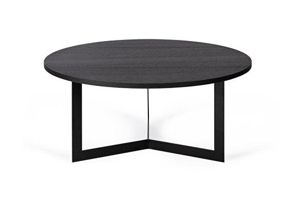 MANU Kavos staliukas Juodas-azuolas